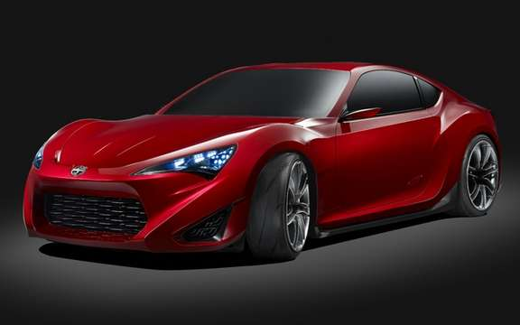 Scion FR-S Concept: It inspires the arrival of a new model