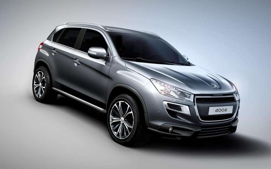 Peugeot 4008: Small Citroen C4 Aircross cousin