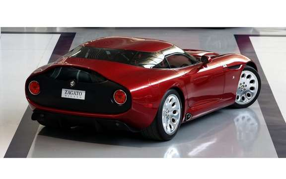 Alfa Romeo TZ3 Stradale by Zagato: Only 9 units produced picture #4