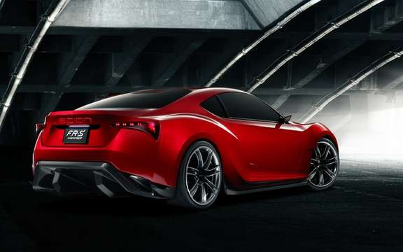 Scion FR-S Concept: It inspires the arrival of a new model picture #2