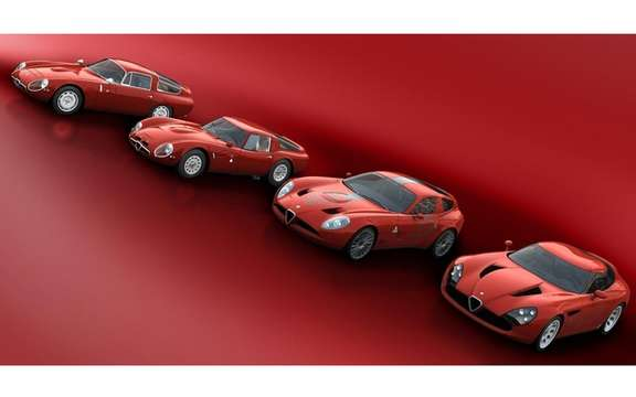 Alfa Romeo TZ3 Stradale by Zagato: Only 9 units produced picture #5