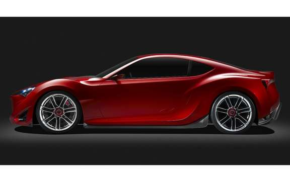 Scion FR-S Concept: It inspires the arrival of a new model picture #3