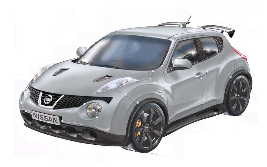Nissan Juke R: The engine of the GT-R Cup