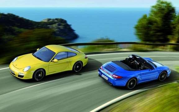 Porsche 911 Carrera 4 GTS: The sprawling range