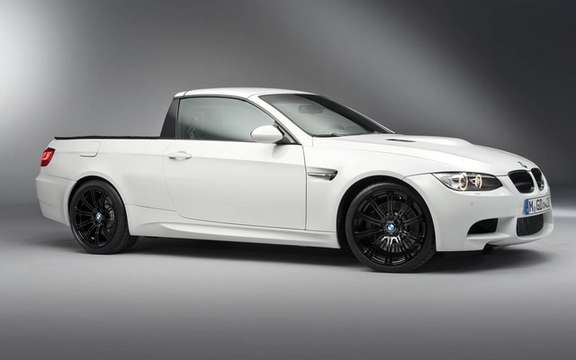 BMW M3 Pickup: There exists only one copy!