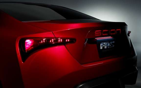Scion FR-S Concept: It inspires the arrival of a new model picture #6