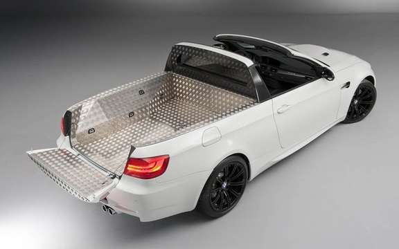 BMW M3 Pickup: There exists only one copy! picture #2