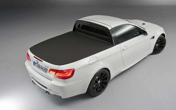 BMW M3 Pickup: There exists only one copy! picture #4