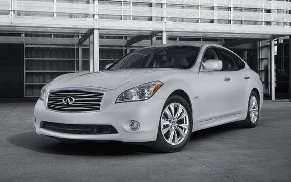 Infiniti M Hybrid 2012: Available at a price of $ 67,300