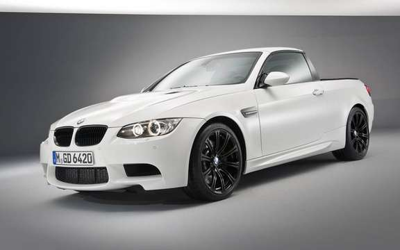 BMW M3 Pickup: There exists only one copy! picture #5
