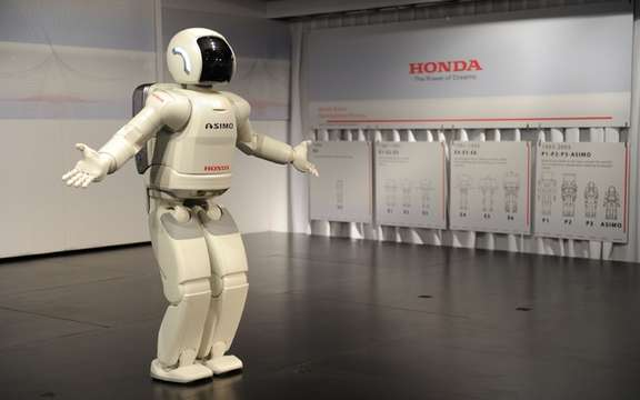 Honda calls the most perfect world humanoid robot in Canada