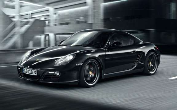 Porsche Cayman S Black Edition: All black clothed picture #3