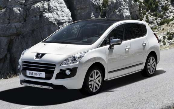 Peugeot 3008 HYbrid4: It receives the Research & Innovation Award 2011