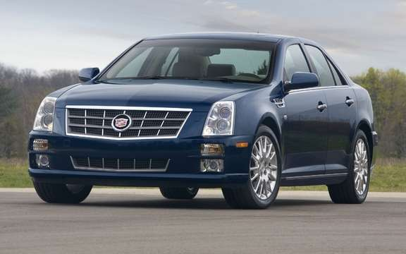 Cadillac STS: The page is finally tour