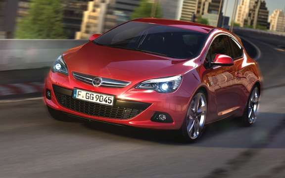 Opel Astra GTC: Coming soon a reality