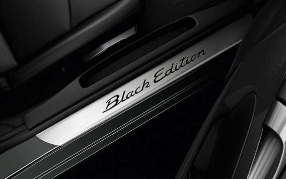 Porsche Cayman S Black Edition: All black clothed picture #5