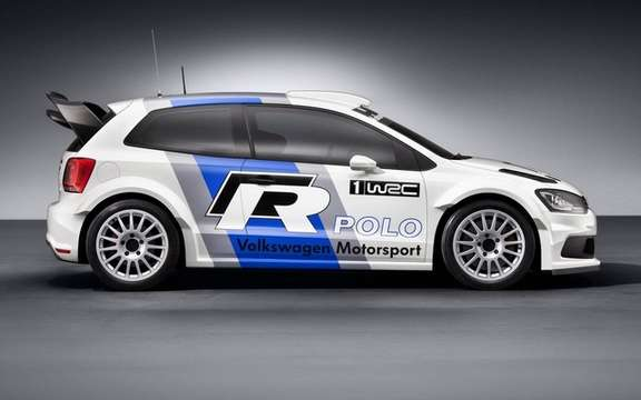 Volkswagen Polo R WRC: On the track of 2013 picture #2