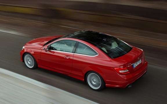 Mercedes-Benz C-Class Coupe 2012: A silhouette very well done picture #3