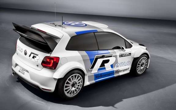 Volkswagen Polo R WRC: On the track of 2013 picture #3