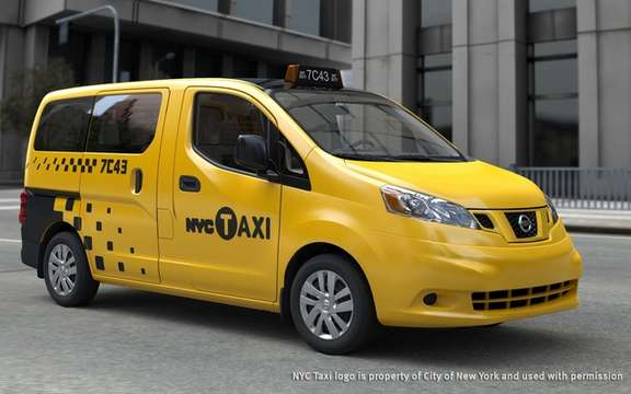 Nissan NV 200: Select the official taxi of New York City