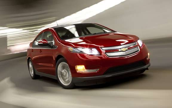2012 Chevrolet Volt: A fixed starting price was $ 41,545