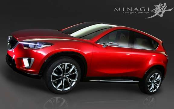 Mazda announced that its new compact SUV will baptize Mazda CX-5