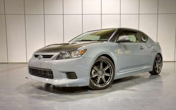 2011 Scion tC: She receives five-star rating in crash tests