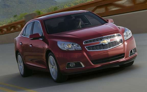 Chevrolet Malibu 2013: From Facebook Internet picture #1
