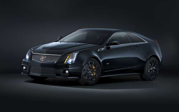 Cadillac CTS-V Coupe: Black Diamond Edition