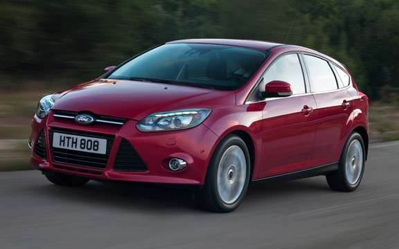 Ford Focus 2012: She mocks the wind