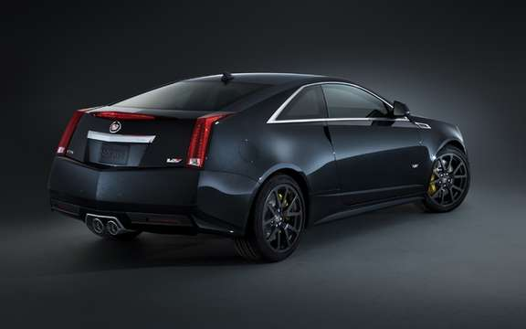 Cadillac CTS-V Coupe: Black Diamond Edition picture #2