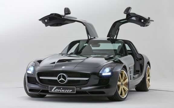 And Lorinser Mercedes SLS AMG: Question wheels