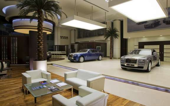 Rolls-Royce opens its most luxurious concession picture #2