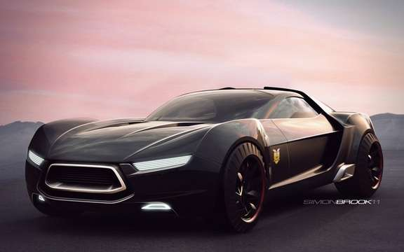Mad Max Interceptor Concept Ford: For the film preparation picture #3