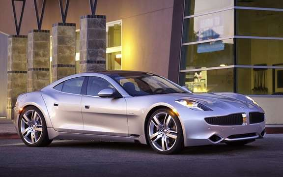 Fisker Karma: Start of production