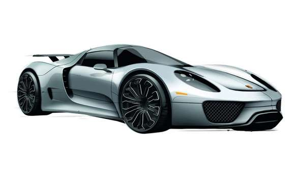 Porsche 918 Spyder: Offered in 2013 from $ 845,000 U.S.