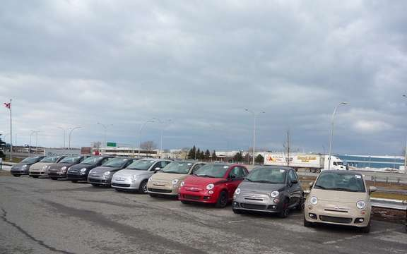 Fiat 500 now available in Quebec