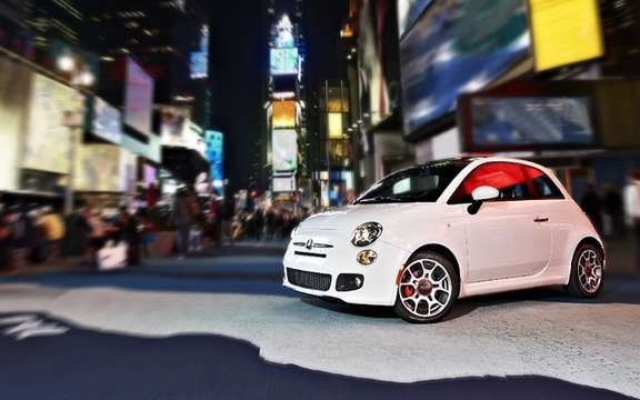 Fiat 500 2012: A parade of 200 cars