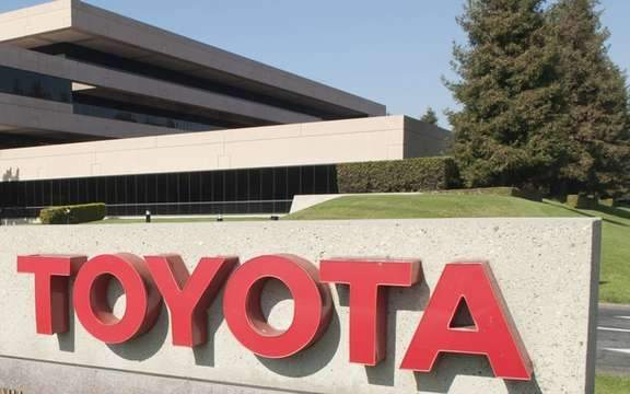 Toyota presented its utterance about the earthquake