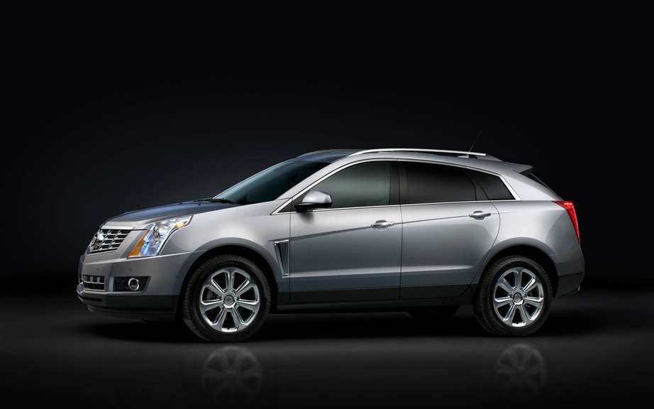 Cadillac: an urban SUV models and a diesel engine picture #5