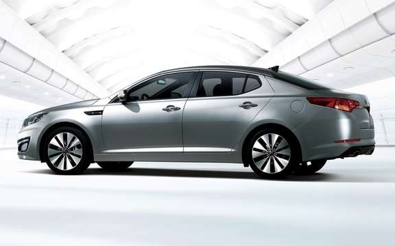 Kia Optima 2011: A rating of five stars