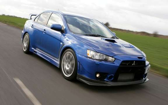 Mitsubishi Lancer EVO X: It will remain, but ...