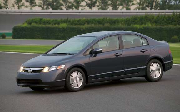 Honda Civic Hybrid 2006 and 2007: 2064 Car Reminder