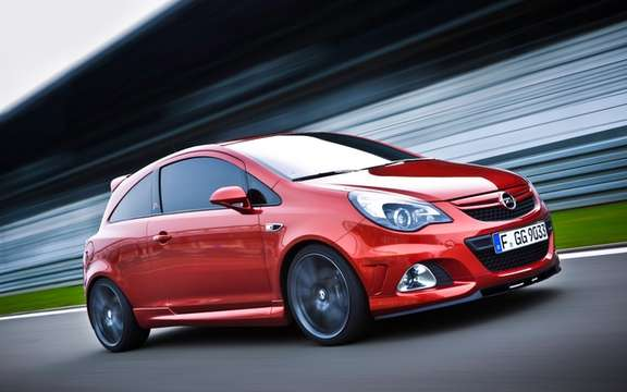 "Opel Corsa OPC ""Nürburgring Edition"" By far the most powerful picture #1"