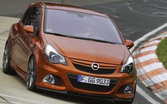 "Opel Corsa OPC ""Nürburgring Edition"" By far the most powerful picture #2"