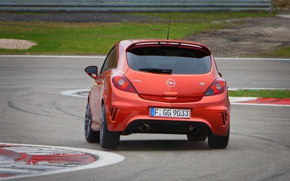 "Opel Corsa OPC ""Nürburgring Edition"" By far the most powerful picture #3"