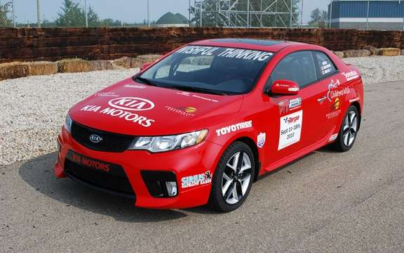 Kia Forte Koup SX Targa Newfoundland: an auction