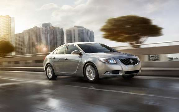 Buick Regal eAssist 2012: Oshawa Assembly has