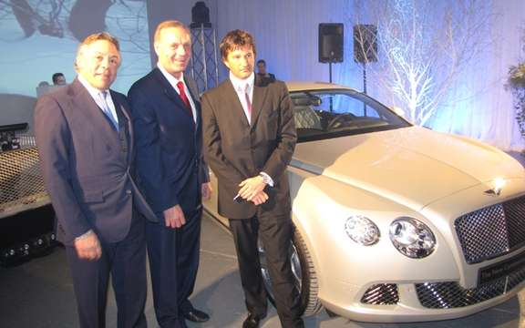 Bentley Montreal gives $ 20,000 to the Montreal Canadiens Children's