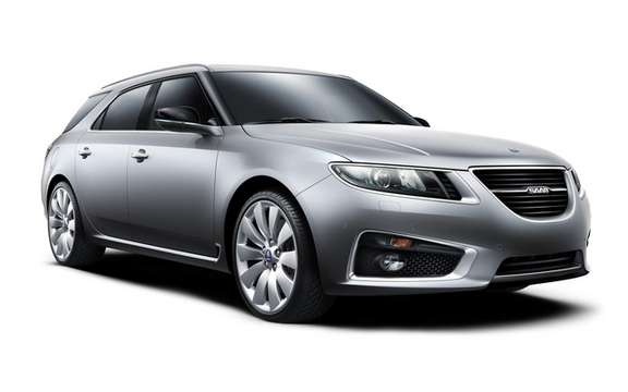 Saab 9-5 SportCombi: Available from September 2011